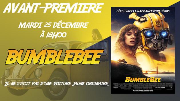 Avant-première: BUMBLEBEE