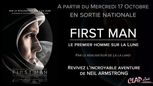 Fisrt Man, le premier homme sur la lune