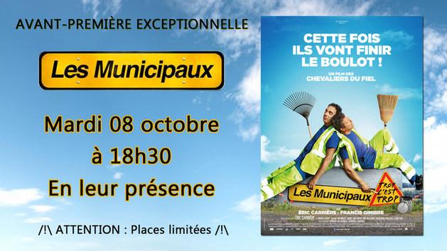"""Avant-première exceptionnelle """"Les Municipaux, trop c'est trop !"""""""