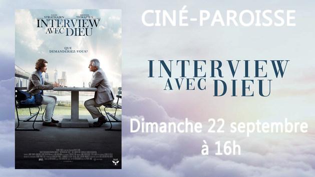 """Ciné Paroisse """"Interview avec Dieu"""""""